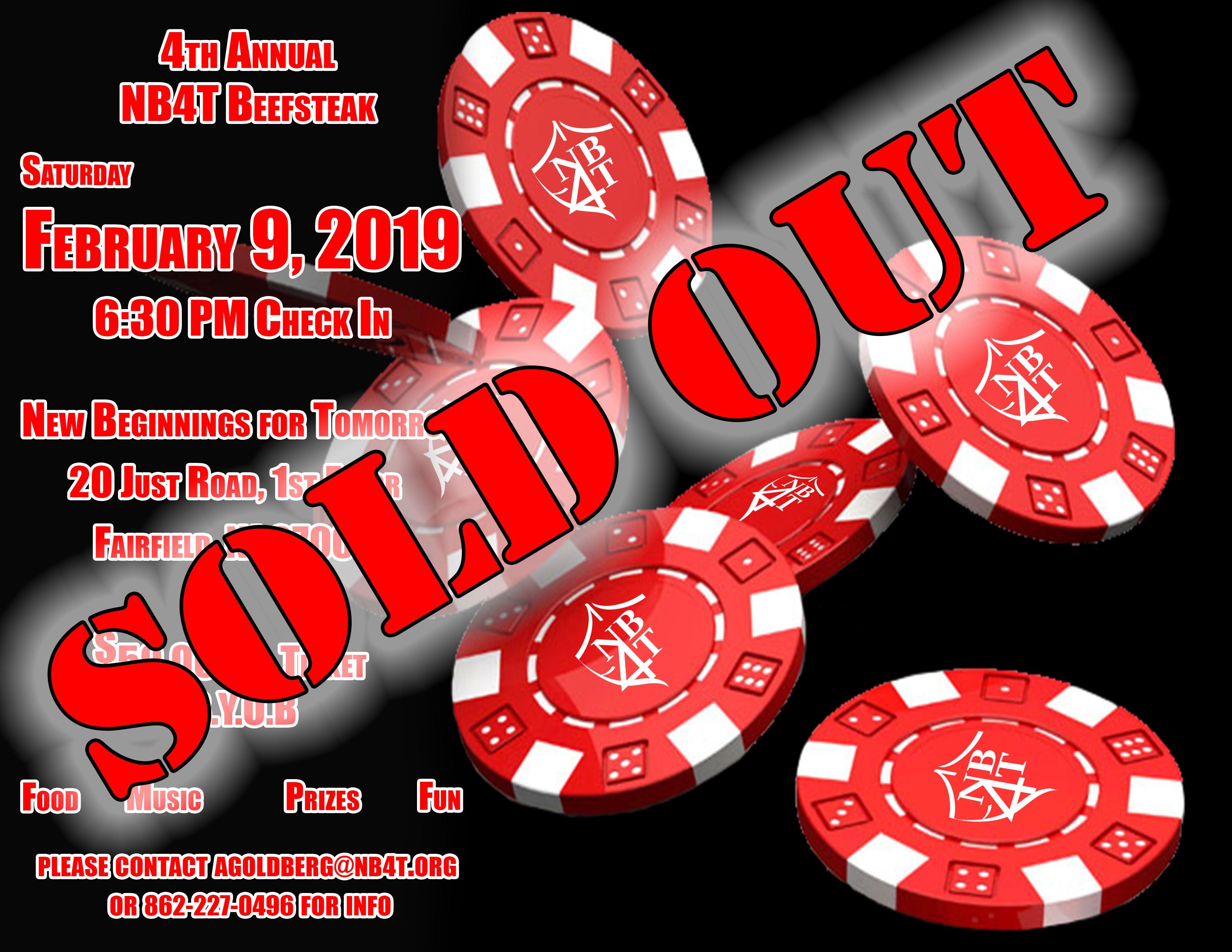 beefsteak sold out