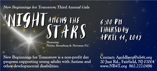 NB4T Gala Ad in NJ Family & Raising Teens Magazine